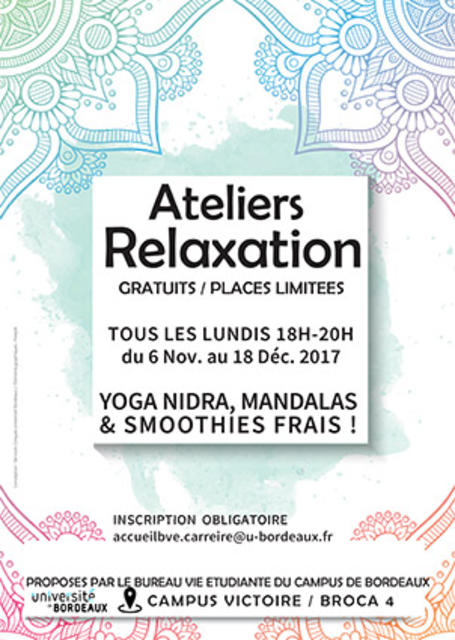 Affiches Ateliers Relaxation VICTOIRE
