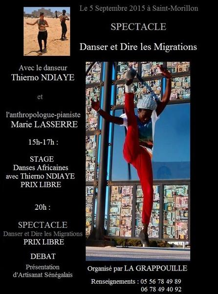 spectacle st morillon